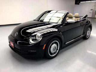 2013 Volkswagen Beetle 2.5L 50s Edition 2dr Convertible