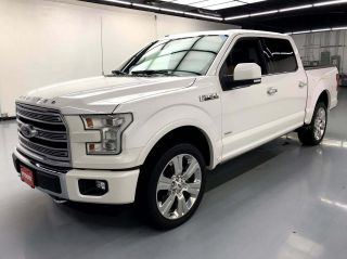 2016 Ford F-150 4x4 Limited 4dr SuperCrew 5.5 ft. SB