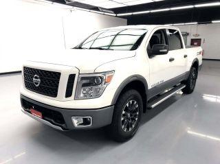 2018 Nissan Titan 4x4 PRO-4X 4dr Crew Cab
