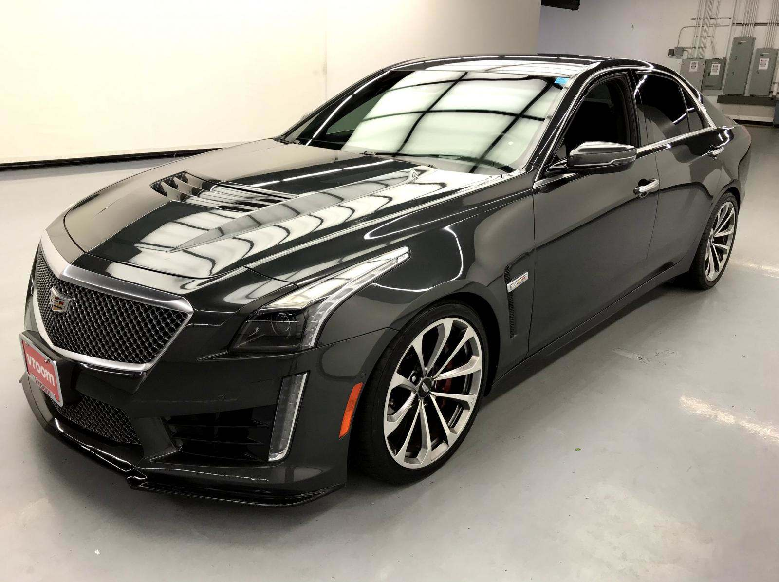 Cadillac Cts V Used >> Used 2016 Cadillac Cts V For Sale 53 310 Vroom