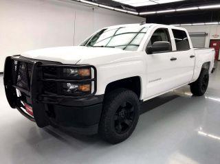 2015 Chevrolet Silverado 1500 4x4 Work Truck 4dr Crew Cab 5.8 ft. SB