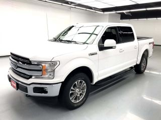 2018 Ford F-150 4x4 Lariat 4dr SuperCrew 5.5 ft. SB